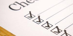 Gefährdungsanalyse - Checkliste